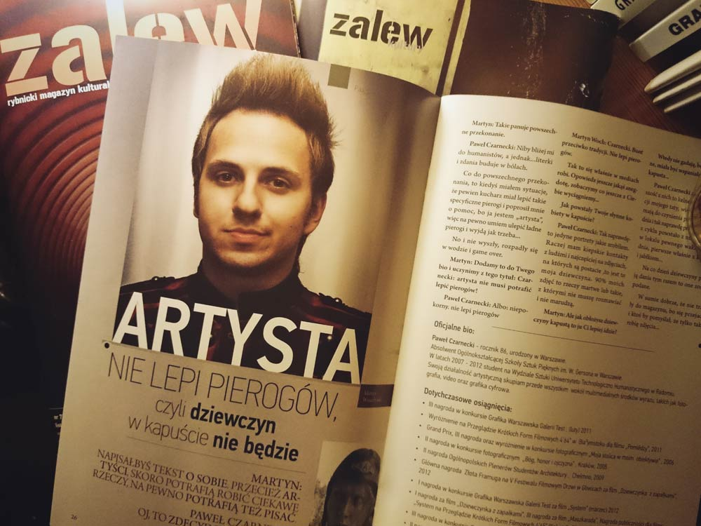 Wywiad dla Zalewu Kultury
