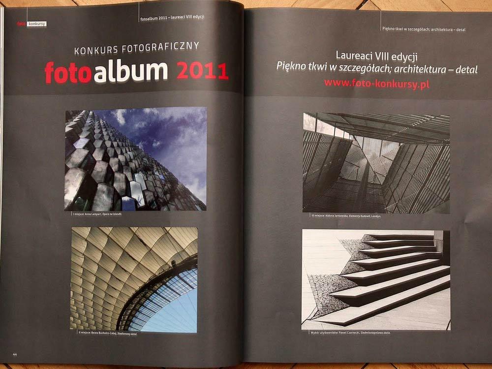 Publikacja w magazynie FOTO