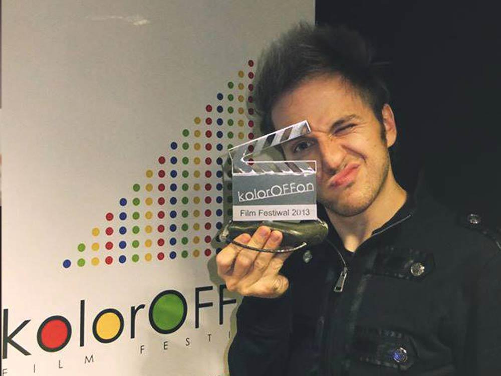 I Nagroda na festiwalu filmowym KolorOffon w Bydgoszczy