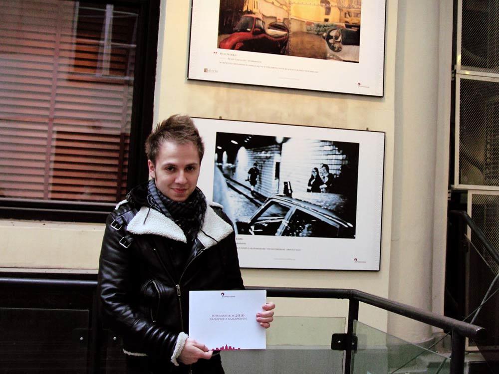 Wystawa w galerii plenerowej na Chmielnej