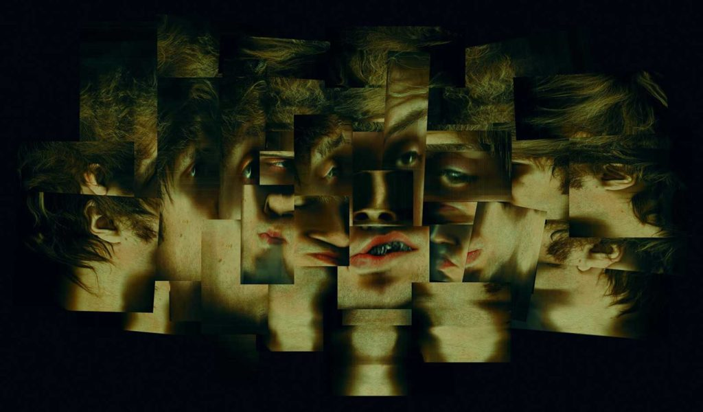 Portret kubistyczny