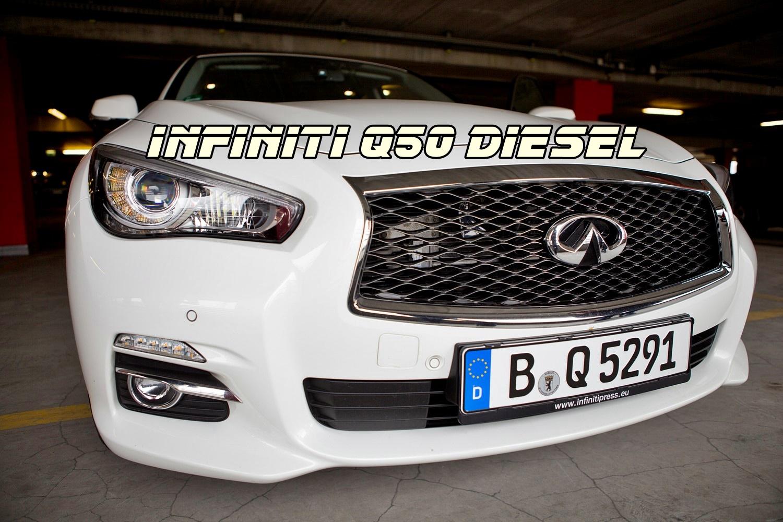 Infiniti Q50 Test